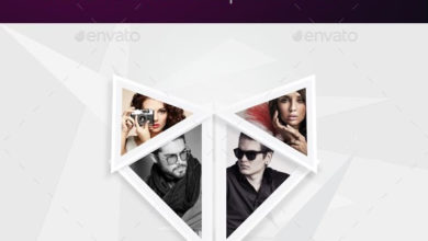 Photo of stylish photo frame template v02 17036113 free download