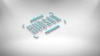 3d Glitch Effect Logo Mockup Free Download Picgiraffe.com