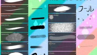 Amazing Old Tobias Brush Set Procreate Free Download Picgiraffe.com
