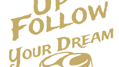 Photo of Folow Your Dream T shirt Design