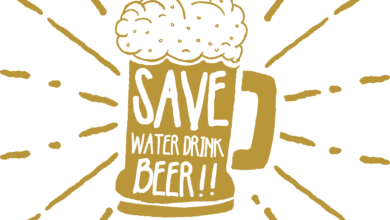 Photo of Save Water Drink Beer T shirt Design