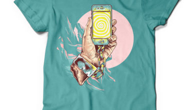 Selfish Mock Up T Shirt Design Free Download Picgiraffe.com
