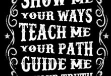 Photo of Show Me Teach Me Guide Me T shirt Design