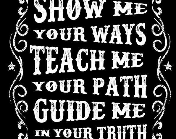 Show Me Teach Me Guide Me T Shirt Design Free Download Picgiraffe.com