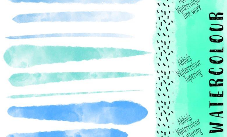 Some Convincing Watercolor Brushes Procreate Free Download Picgiraffe.com