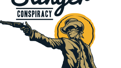 Photo of The Gun Slinger T shirt Design