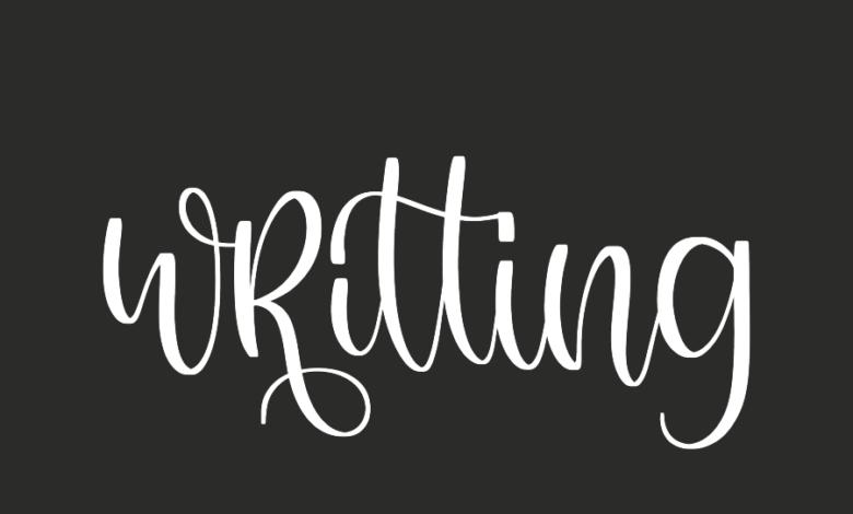 WRITING – FREE PROCREATE BRUSH Free Download Picgiraffe.com