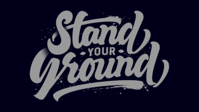 Photo of Stand Your Ground T Shirt Design