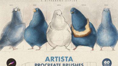 Artista Procreate Brushes 4762278 Free Download Picgiraffe.com