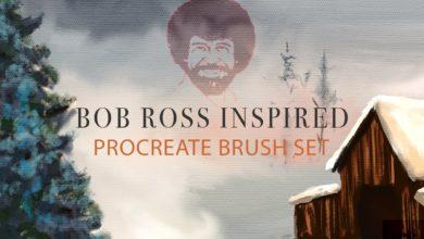 Bob Ross Inspired Procreate Brushes 3717628 Free Download Picgiraffe.com