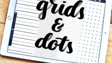 FREE LINE RULE AND DOT GRID BRUSHES Free Download Picgiraffe.com