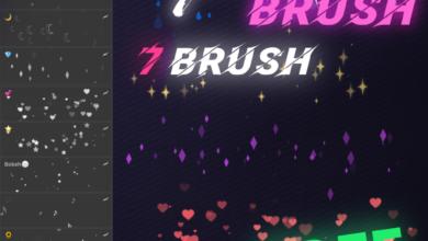 FREE Anime Bokeh Brushes Free Download Picgiraffe.com