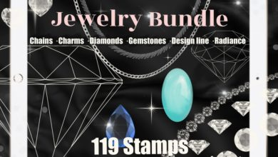 Free Jewelry Chain Stamps Procreate Brushes Free Download Picgiraffe.com