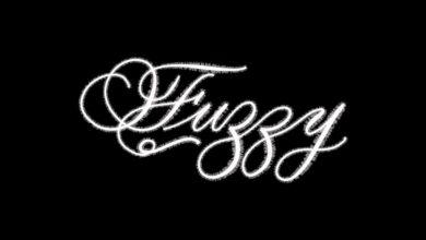 Fuzzy Procreate Lettering Brush Free Download Picgiraffe.com