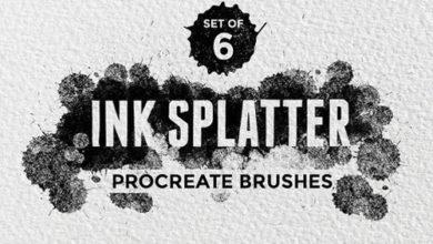 Ink Splatter Procreate Brushes 1504960 Free Download Picgiraffe.com