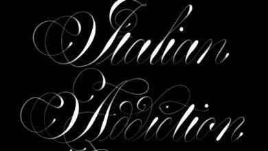 Italian Addiction Procreate Lettering Brush Free Download Picgiraffe.com
