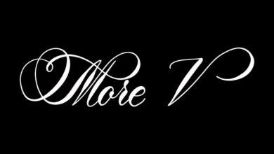 More V Procreate Lettering Brush Free Download Picgiraffe.com