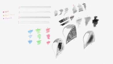 Notes App Pencil Brush Free Download Picgiraffe.com