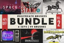 Procreate Brushes Bundle Vol. 2 1768173 Free Download Picgiraffe.com
