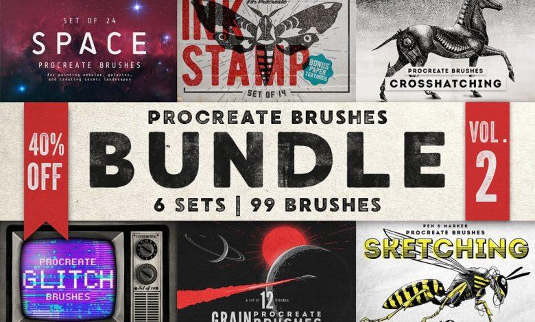Procreate Brushes Bundle Vol. 2 1768173 Free Download Picgiraffe.com