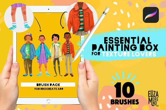 Procreate Essential Painting Box 2220606 Free Download Picgiraffe.com