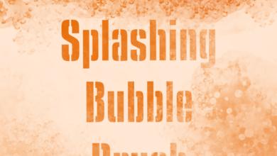 Splashing Bubble Brush Free Download Picgiraffe.com