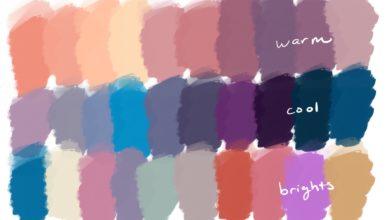 Sunset Skies Palette Procreate Free Download Picgiraffe.com
