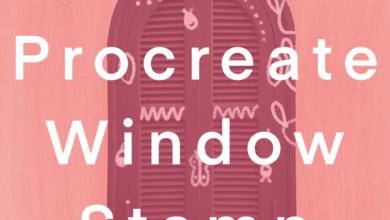 Window Stamp Brush Procreate Free Download Picgiraffe.com