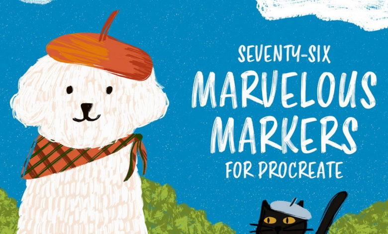 Marvelous Markers Procreate Free Download Picgiraffe.com