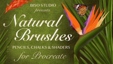 Natural Brushes For Procreate Free Download Picgiraffe.com