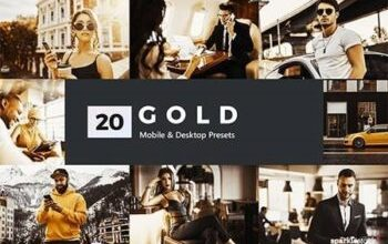 Photo of 20 Gold Lightroom Presets and LUTs 27986347