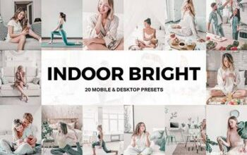Photo of 20 Indoor Bright Lightroom Presets and LUTs 4947840
