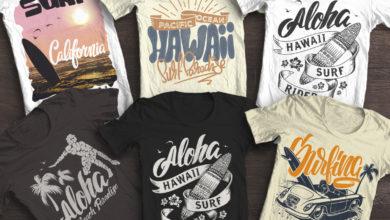 6 Summer Surf T Shirt Print Free Download Picgiraffe.com