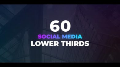 60 Social Media Lower Thirds After Effects Templates Free Download Picgiraffe.com