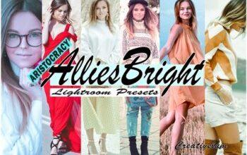 Photo of Allies Bright Instagram Blogger Lightroom Presets