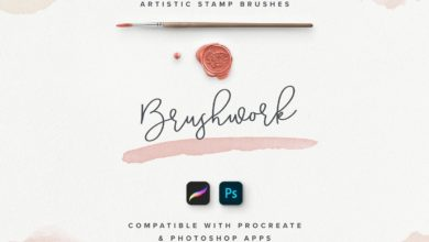 Photo of BRUSHWORK FOR PROCREATE AND PHOTOSHOP FREE DOWNLOAD
