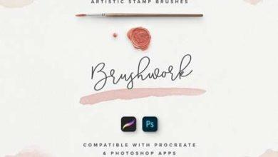 Brushwork For ProCreate Photoshop 3375048 Free Download Picgiraffe.com