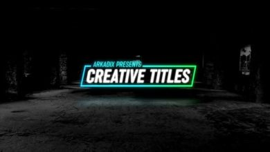Creative Titles After Effects Templates Free Download Picgiraffe.com