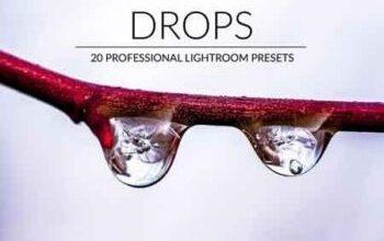 Photo of Drops Lr Presets