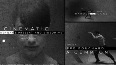 Film Titles Opener After Effects Templates Free Download Picgiraffe.com