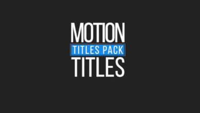Photo of Free Simple Titles Template for Adobe After Effects