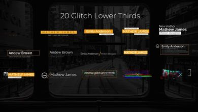 Photo of Glitch Lower Thirds After Effects Templates