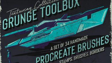 Grunge Toolbox Procreate Brushes 2918393 Free Download Picgiraffe.com