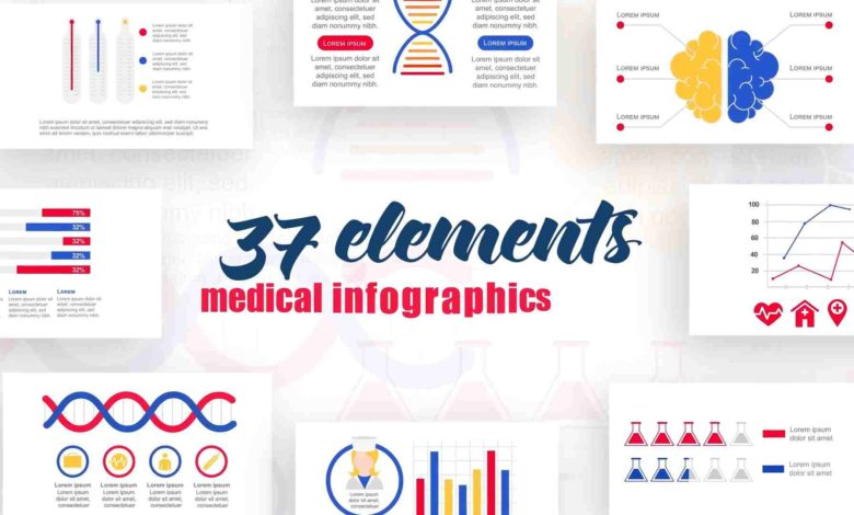 Infographics Medical After Effects Templates Free Download Picgiraffe.com