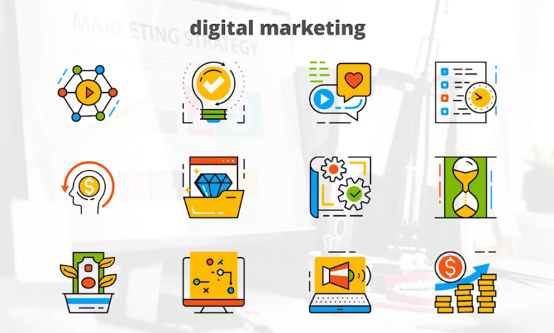 Marketing Icons Free After Effects Templates Free Download Picgiraffe.com