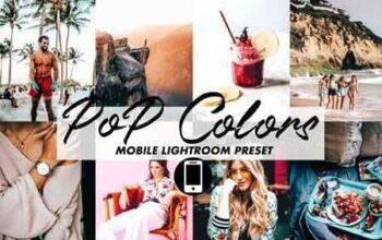 Photo of Mobile Lightroom Preset POP COLORS 3395808
