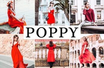 Poppy Mobile Desktop Lightroom Presets 4655201 Free Download Picgiraffe.com