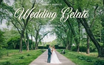 Photo of Wedding Gelato Mobile Presets 4423386