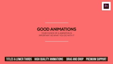 Photo of 30 Free Animated titles & Lower Thirds for Adobe Premiere Pro