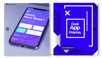 Cool App Promo After Effects Templates Free Download Picgiraffe.com
